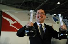 Qantas takes off with sustainable fuel.