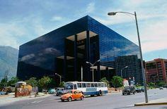 """edificio, el """"cubo negro"""", caracas"""