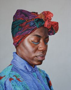 """Latoya"" Alan Coulson is a London based contemporary realist artist, working predominantly in portraiture."