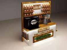 Coffee Shop Design, Liquor Cabinet, Storage, Furniture, Home Decor, Bar, Business, Cafeteria Design, Homemade Home Decor
