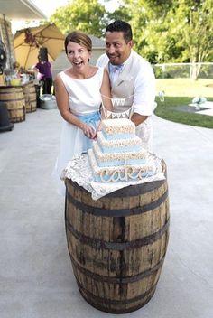 Bourbon Barrel Rehab - Home Bourbon Barrel, Kentucky, How To Make, Wedding, Valentines Day Weddings, Weddings, Mariage, Marriage, Chartreuse Wedding