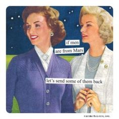 Anne Taintor Magnets Our strong and (very funny) magnets are a wonderful addition to any fridge! Magnets are individually bagged for gift-giving. Sarcastic Quotes, Funny Quotes, Funny Memes, Hilarious, Jokes, Housewife Humor, Retro Housewife, Retro Humor, Vintage Humor