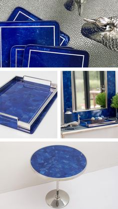 Lapis Lazuli, Chic, Outdoor Decor, Beautiful, Collection, Design, Home Decor, Shabby Chic, Decoration Home