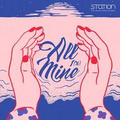 f(x) - 'All Mine' Album Cover Music Covers, Album Covers, Super Junior T, Eye Illustration, Pochette Album, Album Cover Design, Kawaii, Grafik Design, Graphic Design