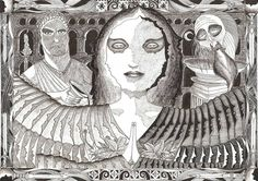 Salome im Tanz der 7 Schleier mit Herodes Antipas und Johannes den Täufer  25. Januar 2017