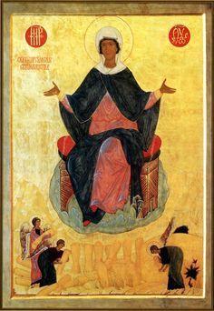 Theotokos Who Provides Bread icon