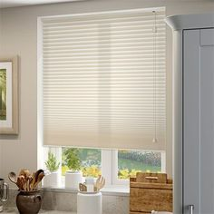 DuoLight Cream Thermal Blind Thermal Blind Thermal Blinds, Honeycomb Blinds, Houses In France, Kitchen Blinds, Roller Blinds, Venetian, Pewter, Curtains, Living Room