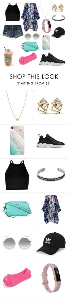 """SUMMER STYLES"" by mgarcia-iii ❤ liked on Polyvore featuring ZoÃ« Chicco, Gray Malin, NIKE, Boohoo, Alex and Ani, Coach, Marc Jacobs, adidas Originals, Fitbit and Hollister Co."