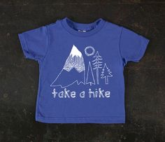 Take A Hike Royal Blue Toddler Tee By TrulySanctuary