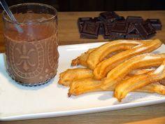 Churros y chocolate a la taza, Receta por Lolioctubre1963 - Petitchef