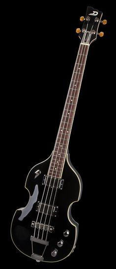 Duesenberg Violin Bass Black