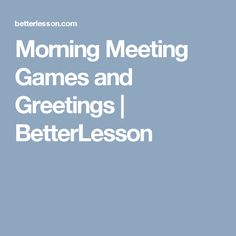 Group speech therapy activities for self contained autism classrooms morning meeting games and greetings betterlesson m4hsunfo