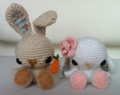 Haakster: Haakpatroon konijntjes vertaald