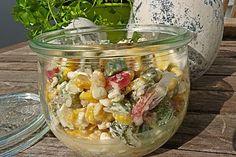 Hüttenkäse - Salat
