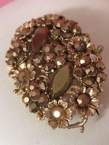 Autumn Gold Colours Floral Costume Brooch Vintage Jewelry  | eBay Vintage Costume Jewelry, Vintage Costumes, Antique Jewelry, Vintage Jewelry, Vintage Brooches, Vintage Antiques, Jewelry Watches, Colours, Autumn