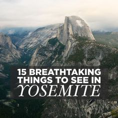 If you're planning a visit, here are 15 Breathtaking Things to do in Yosemite National Park. It's our fave park, and we've even talked about moving there.