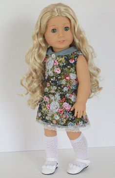 American Girl Doll Clothes Floral and Lace by Closet4Chloe