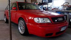 American Auto Transporters Here is how we top rated. #LGMSports Ship it with http://LGMSports.com Heap of the Week: 1995 Audi S6 Avant   German Cars For Sale Blog
