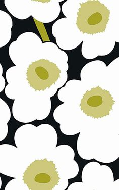 Textile Pattern Design, Textile Patterns, Print Patterns, Floral Patterns, Marimekko Wallpaper, Marimekko Fabric, Flower Wallpaper, Pattern Wallpaper, Iphone Wallpaper