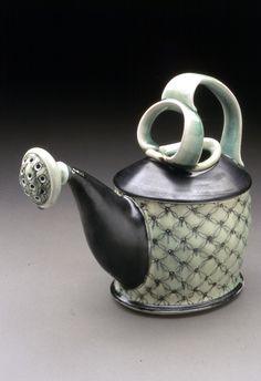 Lorna Meaden, watering can