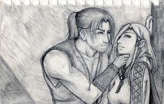 A Barbarian's Affections by Keirkan.deviantart.com on @DeviantArt