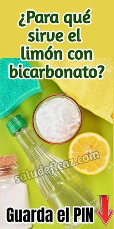 Descubre aquí para que sirve el agua tibia con limon y bicarbonato! Lemon Benefits, Health Benefits, Health Tips, Freezing Lemons, Tomato Nutrition, Natural Antibiotics, Natural Remedies, The Cure, Health Fitness