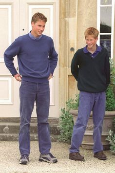 Vintage photos of Prince William and Prince Harry that will melt your heart.
