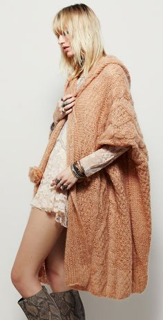 Mes Demoiselles - knitted cardigan