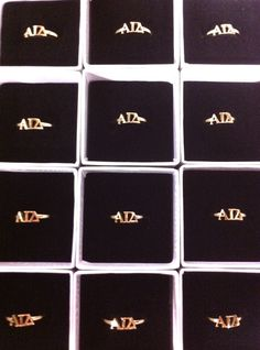 Request a ring sizer for your chapter! Greek Girl, Alpha Gamma, Tri Delta, Sorority Life, Squirrels, Girls Shopping, Pipes, Gold Rings, Lettering