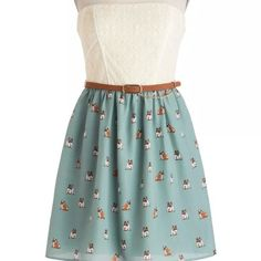 City Triangles Bulldog Dress