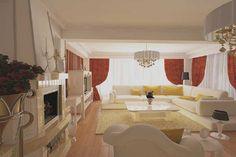 Proiecte design interior living clasic contemporan casa in Constanta . Interior Design Studio, Studio Design, Service Design, Alcove, Modern, Interiors, Nest Design, Trendy Tree