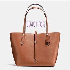 Coach Handbags - HPCoach Market Tote EUC