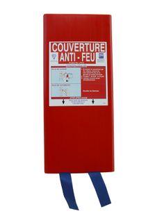Couverture anti feu extinctrice couvre feu