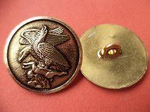 5 Metallknöpfe gold 23mm (401 )Knöpfe Metall Knopf