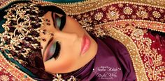 Makeup by Nadia Khan Makeup Artist & Photographer, click on the pic to go on her page - Indian/pakistani Bridal makeup