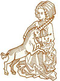 Unicorn legends Maleficarum, Metal Horns, Medieval Books, Unicorn Cat, Book Of Hours, Piercing Ideas, Love Pictures, Illuminated Manuscript, 15th Century