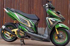 Aerox 155 Yamaha, Vario 150, Scooter Custom, Motorcycle Design, Atv, Cars And Motorcycles, Motorbikes, Honda, Vehicles