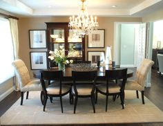 dining room | shoproom | ethan allen | comtemporary rooms