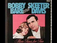 Bobby Bare & Skeeter Davis - Together Again (+playlist) Dear John Letter, Music Songs, Music Videos, Skeeter Davis, Nostalgic Songs, Tammy Wynette, Afraid To Lose You, Linda Ronstadt, Together Again