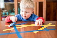 Here are 34 fun ways to fine-tune a toddler's fine motor skills to them stacking blocks, wielding utensils, holding crayons, doing up buttons and becoming Motor Skills Activities, Toddler Learning Activities, Craft Activities For Kids, Infant Activities, Fine Motor Skills, Kindergarten Learning, Primary Teaching, Sensory Activities, Educational Activities