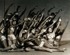 The first American Negro Ballet, 1937.