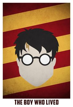 minimalist poster design harry potter