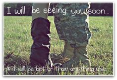 Military love missing him
