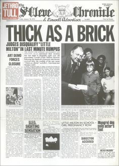 jethro tull 'thick as a brick'