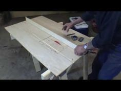 How To Make A Homemade Table Saw With Circular Saw - YouTube