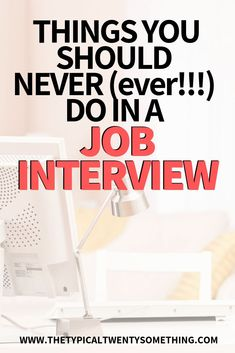 Job interviews can be stressful! Here are the five rules of thumb that I never do during a job interview - and how to crush your next job interview! Top Interview Questions, Job Interview Preparation, Interview Answers, Job Interview Tips, Job Interviews, Interview Techniques, Job Resume, Resume Tips, Resume Ideas
