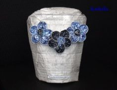 2016_parure_18.00 Creations, Rings, Floral, Flowers, Shopping, Jewelry, Fashion, Recycled Products, Hand Made