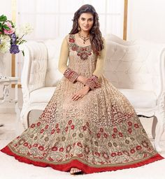 HIT-SAYALI ANARKALI SEMI STICHED SALWAR SUITS-Clothing-CRAZY FASHION