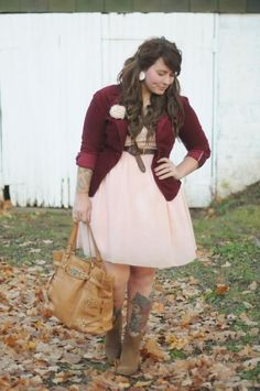 Adorable Big Size Outfit To Wear This Fallk 24 Classy Outfits, New Outfits, Cute Outfits, Fashion Outfits, Curvy Girl Fashion, Plus Size Fashion, Mode Xl, Mein Style, Plus Size Girls