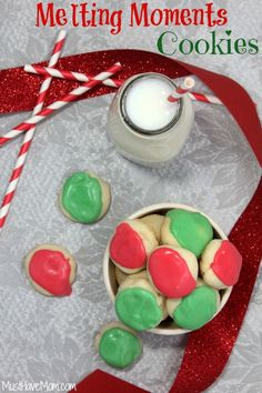 Grandma's Melting Moments Cookies Recipe - Musthavemom.com #FlavorStory